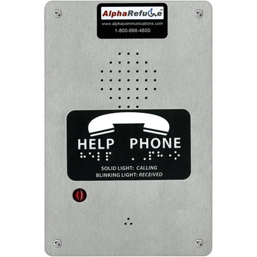 Alpha PBX Refuge Call Box-Surf.-STST