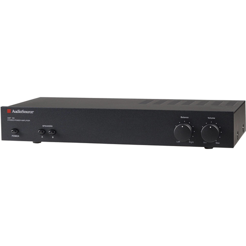 Audiosource Amp100vs Amp100vs 2-channel Power Amp (50 Watts Per Channel)