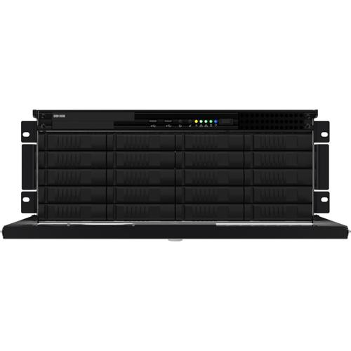 IP 4U SVR WITH 8 IP LICS RAID6 90TB W7 64BIT 60GB SSD