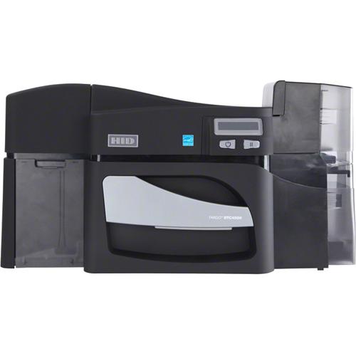 Fargo DTC4500E Double Sided Dye Sublimation/Thermal Transfer Printer - Monochrome - Desktop - Card Print
