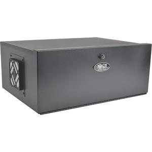 Tripp Lite 5U Security DVR Lockbox Rack Enclosure 60lb Capacity Black