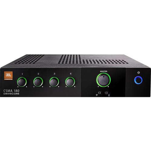 JBL Commercial CSMA 180 Amplifier - 80 W RMS - 4 Channel