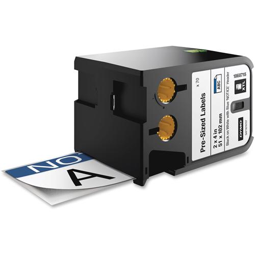Dymo XTL Pre-Sized Safety Labels