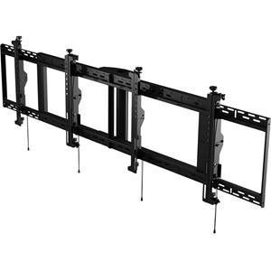Peerless-AV SmartMount DS-MBZ947L-2X1 Ceiling Mount for Menu Board - Black