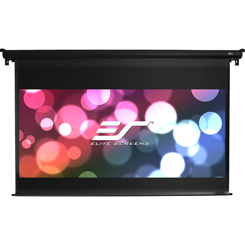 120IN DIAG VMAX DUAL ELECTRIC WALL CEILING MAXWHITE 16:9 BLK CASE