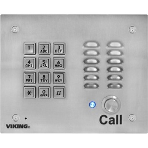 VOIP ENTRY PHONE W/KEYPAD, AUTO DIALER & KEYLESS