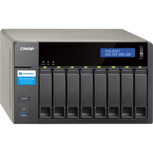 8-BAY DAS/NAS QC i5 16GB RAM 2xTB2