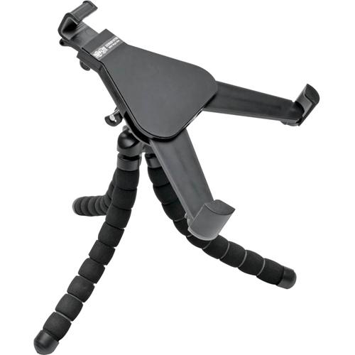 "Tripp Lite Full-Motion Universal Flexible Tablet Desk Mount Monitor Standto 10"" screen - 8.1"" x 8.3"" x 8.3"" - Plastic - Black"""