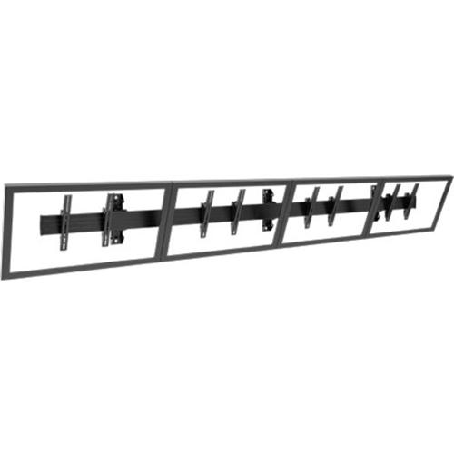 Chief Fusion LWM4X1U Wall Mount for Menu Board - Black