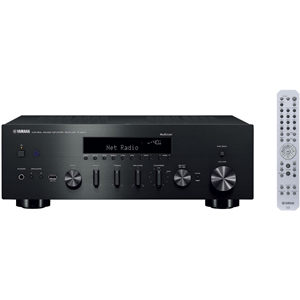 MusicCast enabled Hi-Fi stereo receiver features 80 W + 80 W, Bluetooth and built-in Wi-Fi, Airplay, Spotify Connect, Network Player Controller app, Pandora, Rhapsody, SiriusXM, vTuner, DLNA Certified, high-resolution audio, USB with digital docking, hea