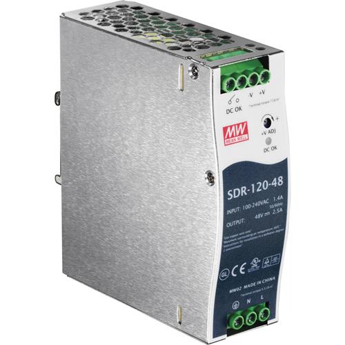 DIN RAIL 48V 120W POWER SUPPLY FOR TI-PG541