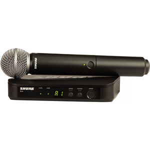 VOCAL SYS w/1 RCVR/HH TRANS/SM58 MIC