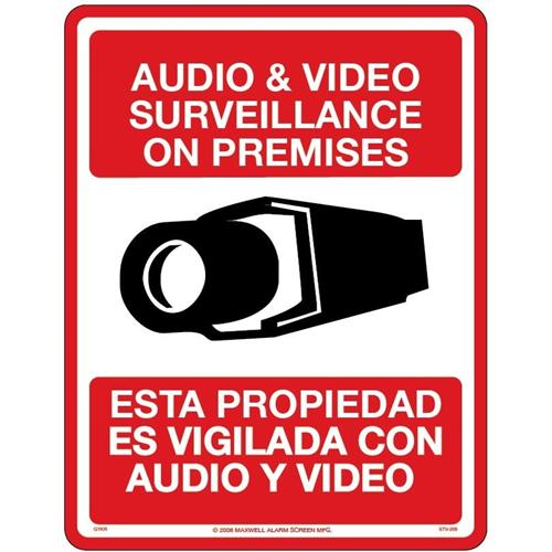 SIGN ONLY -8.5' X 11' BILINGUAL ENGLISH-SPANISH CC