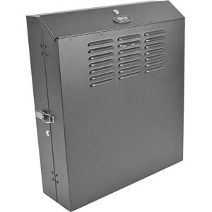 Tripp Lite 4U Wall Mount Low Profile Secure Rack Enclosure Cabinet Vertical