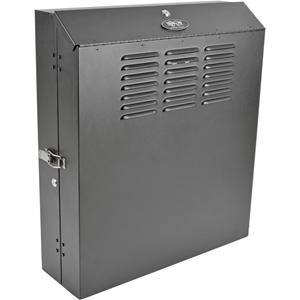 Tripp Lite 6U Wall Mount Low Profile Secure Rack Enclosure Cabinet Vertical