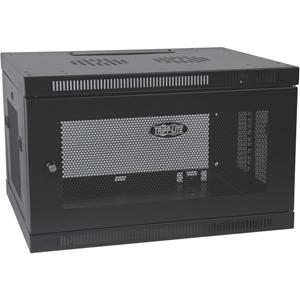 Tripp Lite 6U Wall Mount Rack Enclosure Server Cabinet Switch Depth Deep