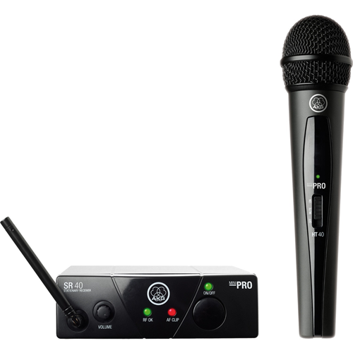539.30 MHz Operating Frequency - 40 Hz to 20 kHz Frequency Response - 65.62 ft Operating Range