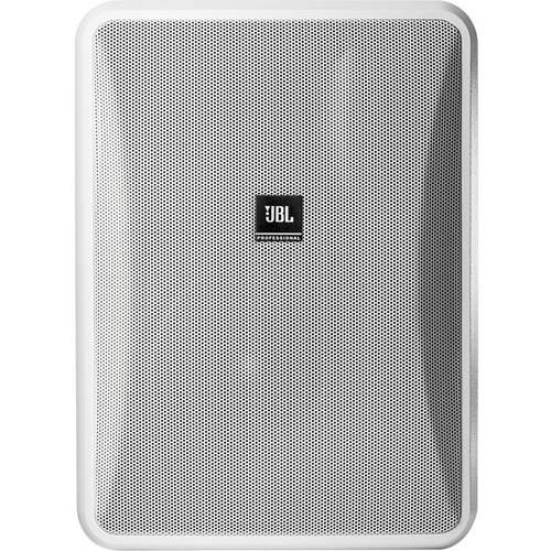 JBL Professional Control 28-1 2-way Indoor/Outdoor Wall Mountable Speaker - 90 W RMS - White