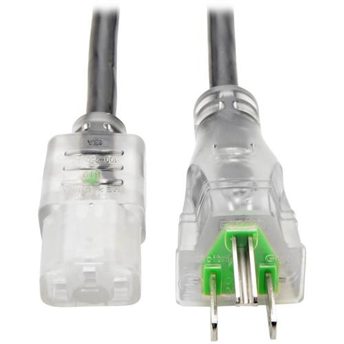 13A 16 AWG NEMA 5-15P TO IEC-320-C13 6FT
