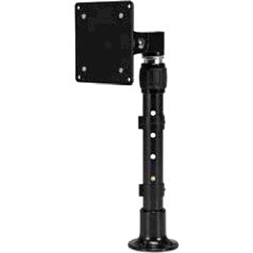 LCD HEIGHT ADJUST DESKTOP W/VESA 75/100 ADAPTER PLATE BLK