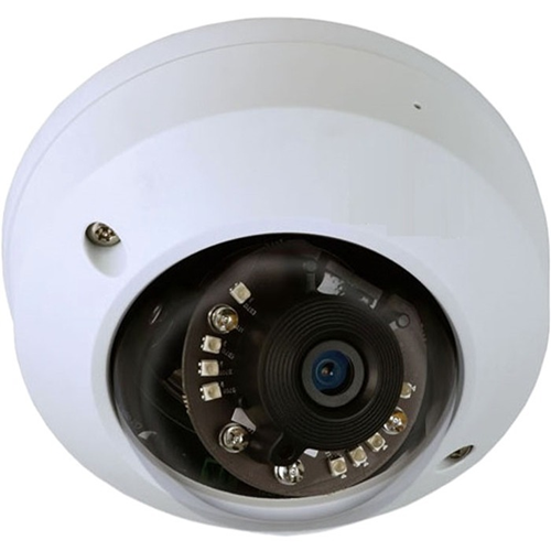 65.62 ft Night Vision - H.265, H.264, MJPEG - 2560 x 1920 - 2.80 mm - CMOS - Cable - Mini-Dome - Wall Mount, Ceiling Mount