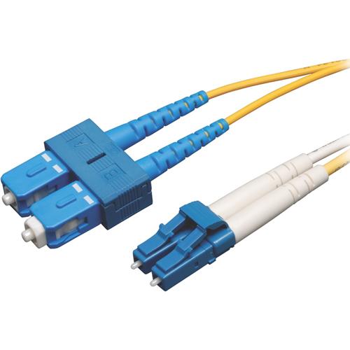 Tripp Lite 20M Duplex Singlemode 9/125 Fiber Optic Patch Cable LC/SC 65' 65ft 20 Meter
