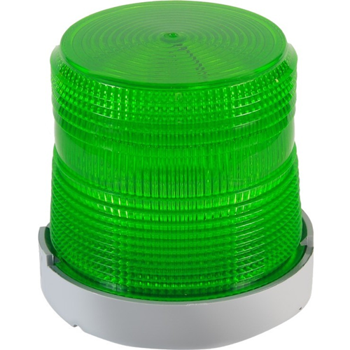 Edwards Signaling Flashing Halogen Beacon Green 24VDC, 0.8A