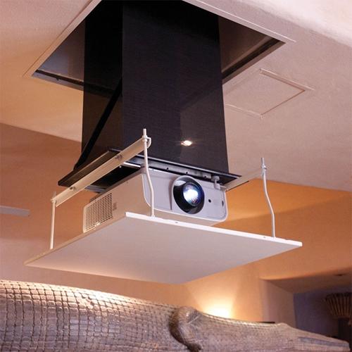 Draper AeroLift Lift for Projector - White