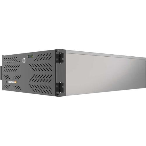 RACKMOUNT 4U RECORDER W/ 8 IP  LICS 128MAX DUAL GB NIC HDMI DVI-I