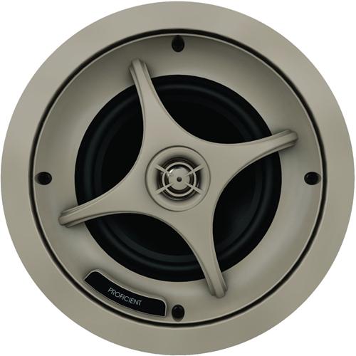 Proficient Audio Protege C635 In-ceiling Speaker - 100 W RMS - Light Brown