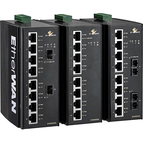 EtherWAN EX46908A-0-J Ethernet Switch