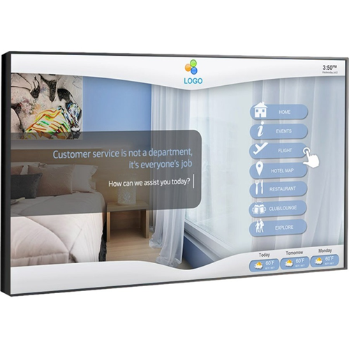 TOUCHSCREEN HOTEL SOLUTION
