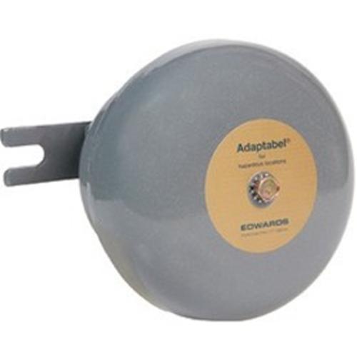 "Edwards Signaling 8"" Explosionproof Vibrating Bell Gray 120 VAC 50/60 Hz, 0.041 A"