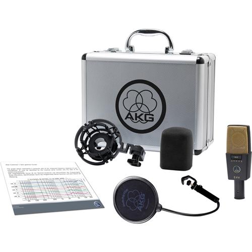 C414 XLII Multi-Pattern Large-Diaphragm Condenser Microphone