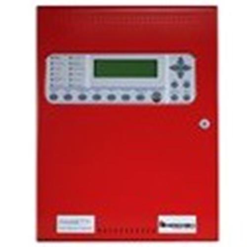 Hochiki FireNET Plus Intelligent Addressable, 1 Loop, Dialer, Expandable, Red, 120V