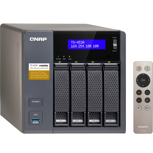 ADI | QNAP TS-453A (8GB RAM VERSION