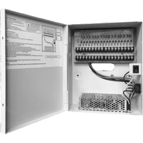 CCTV POWER BOX W/MULIT-PROTECTION,10A 18CH OUTPUT