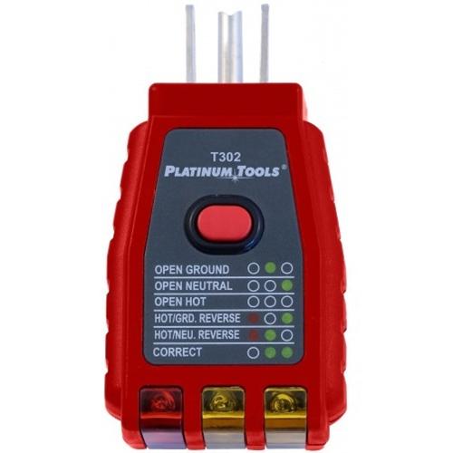 Platinum Tools GFCI Socket Tester