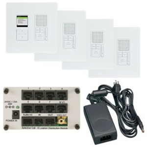 SELECTIVE CALL 4 LOC RADIANT KIT WH