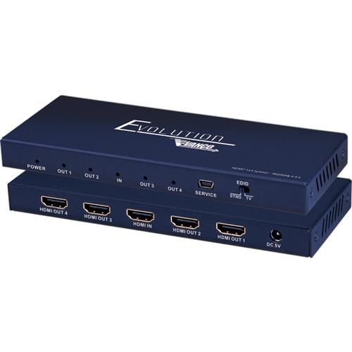 Vanco Evolution Premium 4K HDMI 1x4 Splitter