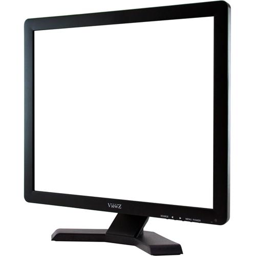 "ViewZ VZ-19RTN 19"" SXGA LED LCD Monitor - 5:4 - Black"