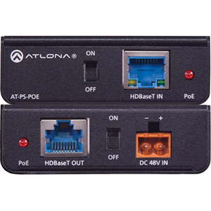 Atlona Power Over Ethernet Mid-Span Power Supply