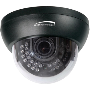 1000TVL Indoor Ir Dome Dual Voltage Camera with 2.8-12mm Lens