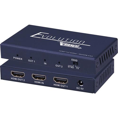 SPLTR HDMI 2.0 1X2 HDCP 2.2 SLM