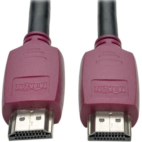 Tripp Lite 15ft Premium Hi-Speed HDMI Cable w Grip Connectors 4K@60Hz 15'