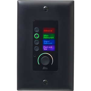 BSS EC-4BV Ethernet Controller with 4 Buttons and Volume Control