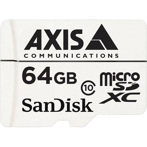 AXIS 64 GB Class 10 microSDXC