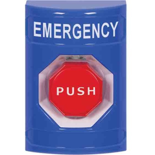 BLU STPPR STA,NO CVR,PUSH & TTR,EMERGENCY LABEL EN