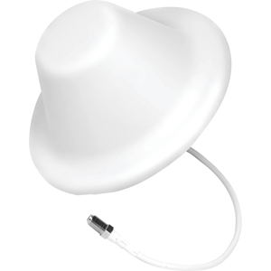 698 MHz, 1.71 GHz to 960 MHz, 2.70 GHz - 4 dB - Cellular Network, Signal Booster - White - Ceiling Mount - Omni-directional - F-Type Connector