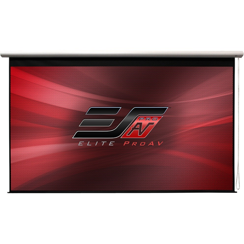 """FACTORY DIRECT ONLY ITEM EliteScreens Manual Grande Series M180XWH-G Manual Pull Down Projection Screen (180"""" 16:9) MaxWhite Material"""